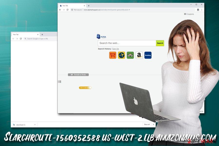 Searchroute-1560352588.us-west-2.elb.amazonaws.com hijack