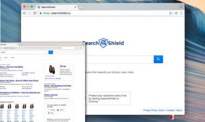 Searchshield redirect virus