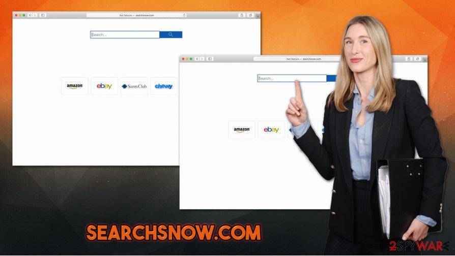 Searchsnow.com hijack
