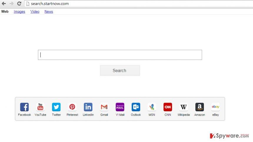Search.StartNow.com snapshot