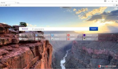 An illustration of the Searchtabnew.com browser hijacker