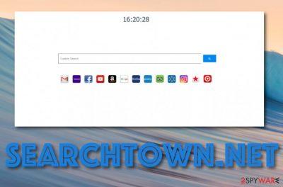 Searchtown.net browser hijacker