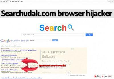 Searchudak.com redirect virus