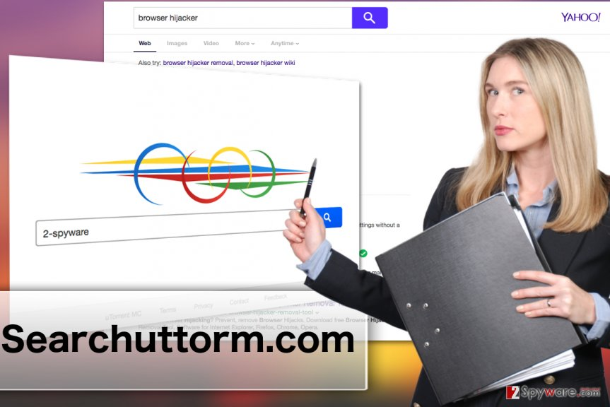 Searchuttorm.com virus illustration