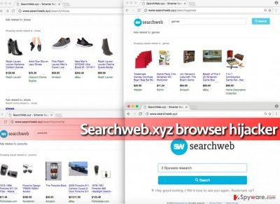 Searchweb.xyz hijack