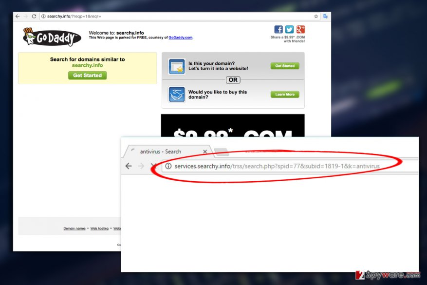 Searchy.info virus