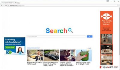 The screenshot of searpages.com