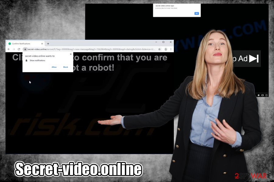 Secret-video.online virus