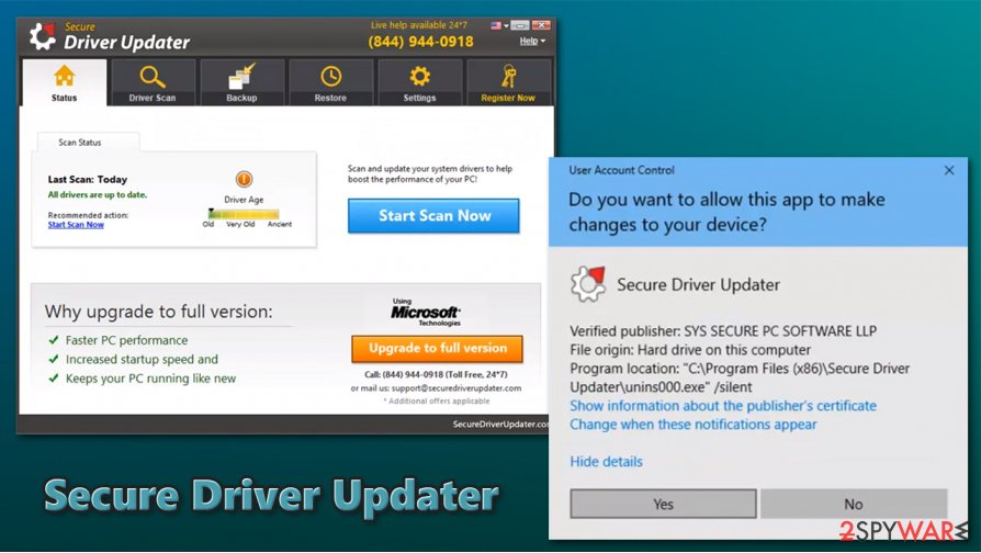 Secure Driver Updater