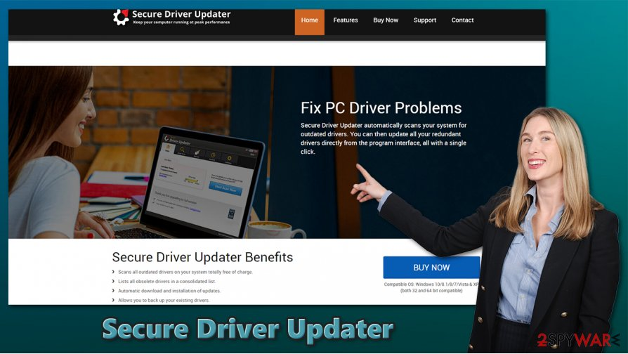 Secure Driver Updater PUP