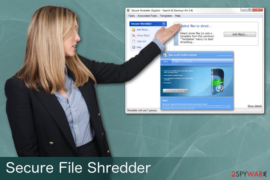 Secure File Shredder virus