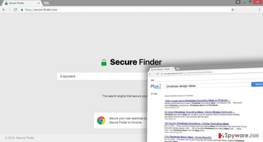 Secure-finder.com virus is a browser hijacker