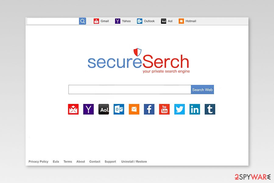 Image of SecureSearch engine