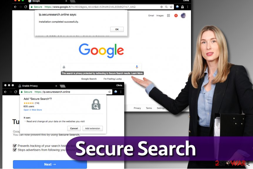 Secure Search extension