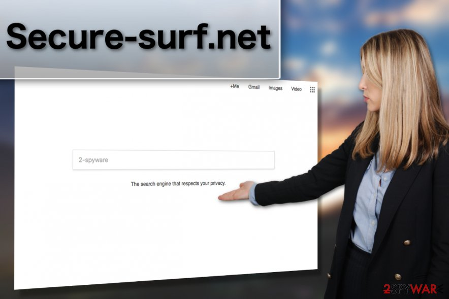 Secure-surf.net virus displayed by expert