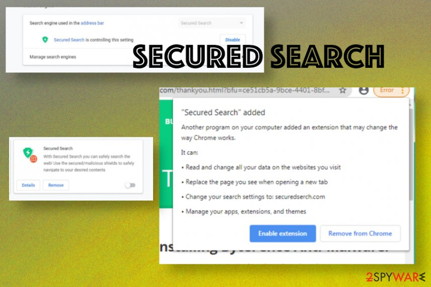 Secured Search