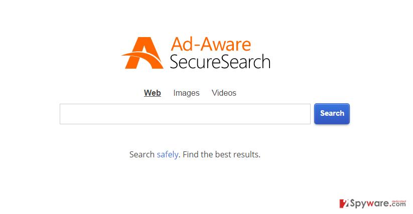 Securedsearch.lavasoft.com snapshot