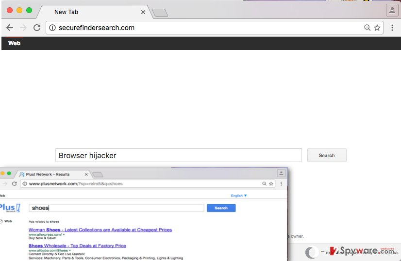 Screenshot of Securefindersearch.com