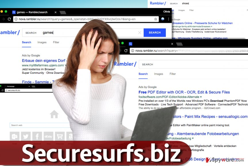 Securesurfs.biz hijack