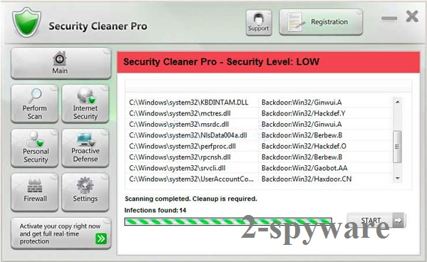 Security Cleaner Pro snapshot
