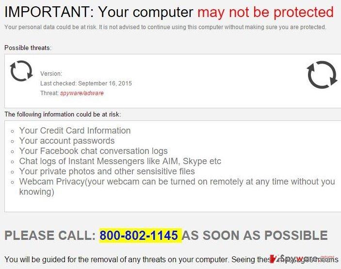 Security.com-msg-err9877sz.tech virus