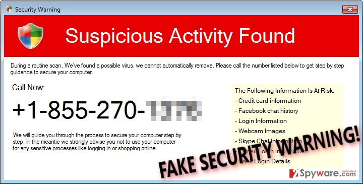 Security Warning (Fake)