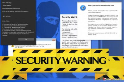 Security Warning scam