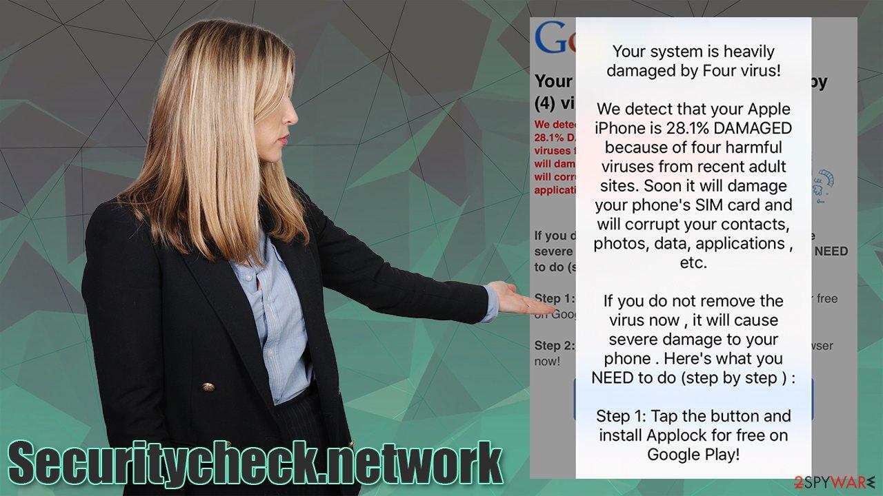Securitycheck.network virus