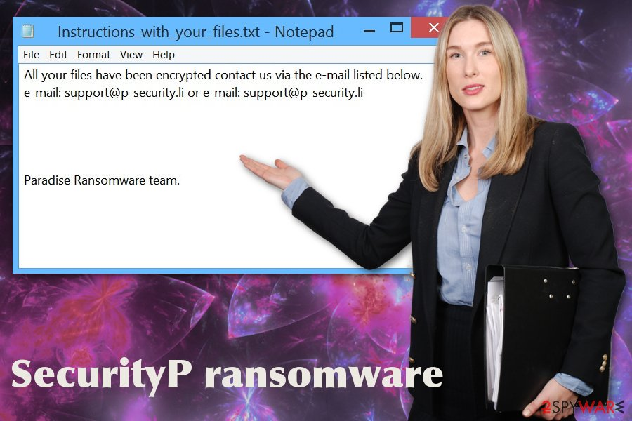 SecurityP ransomware virus