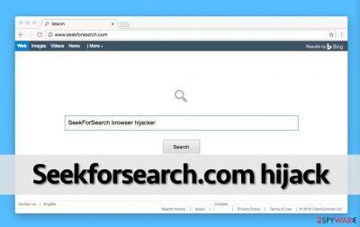 Seekforsearch.com redirect virus changes homepage