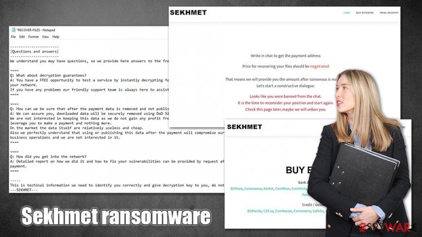 Sekhmet ransomware virus