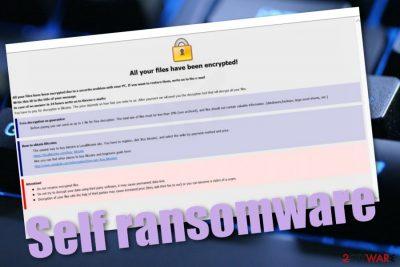 Self ransomware