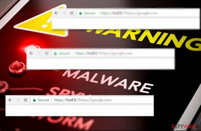 The image illutsrating Semptum.com hijacker