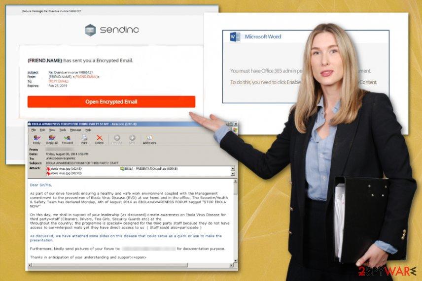 Sendinc email campaign