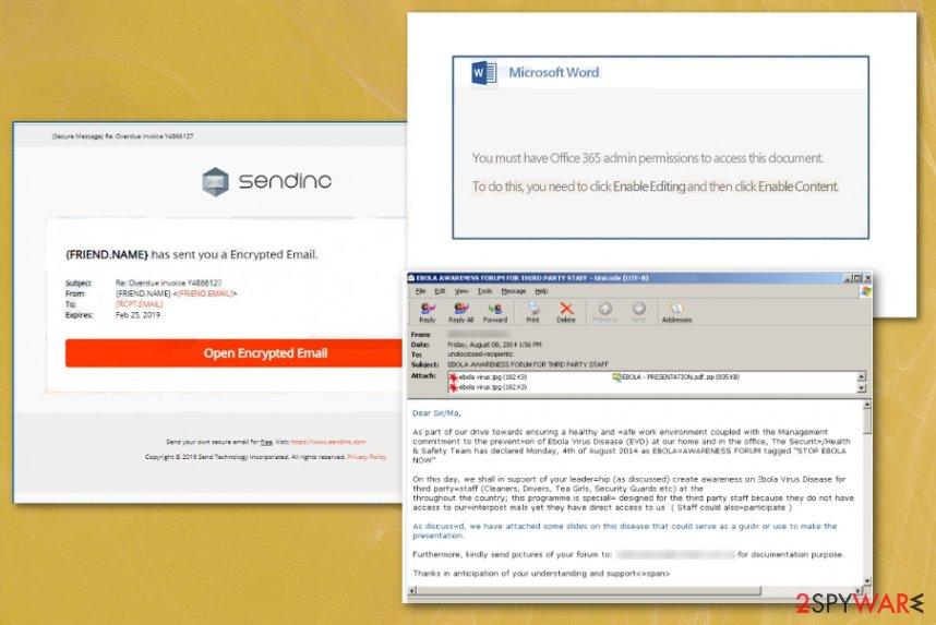 Sendinc invoice virus