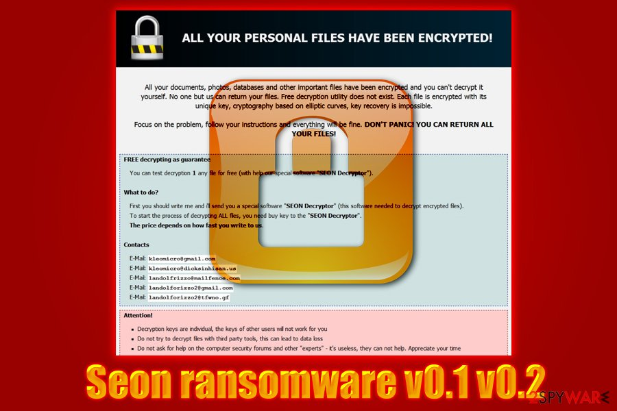 Seon virus uses GreenFlash Sundown EK