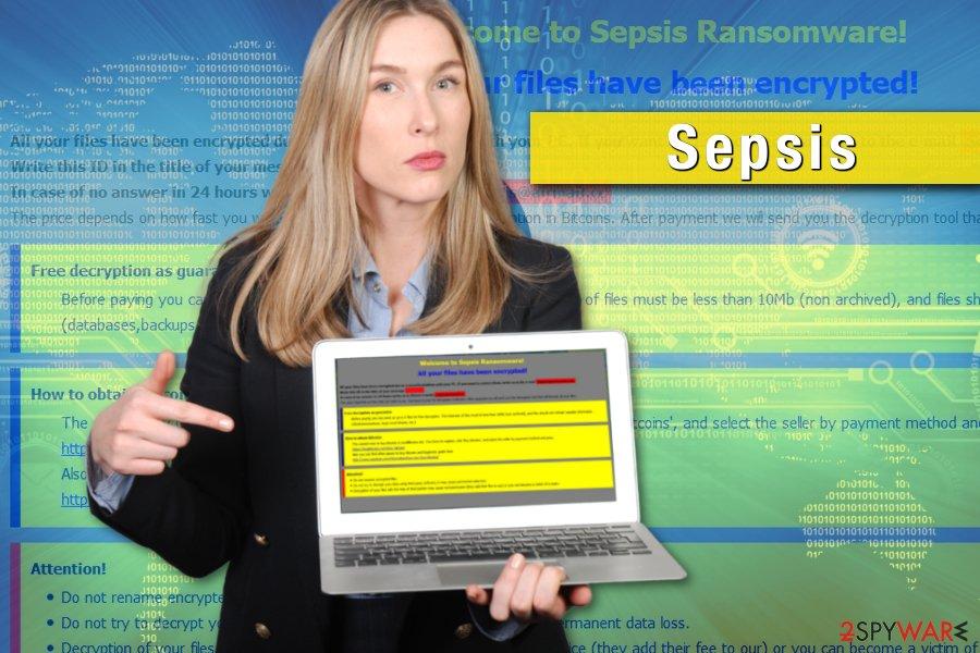 Sepsis ransomware virus example