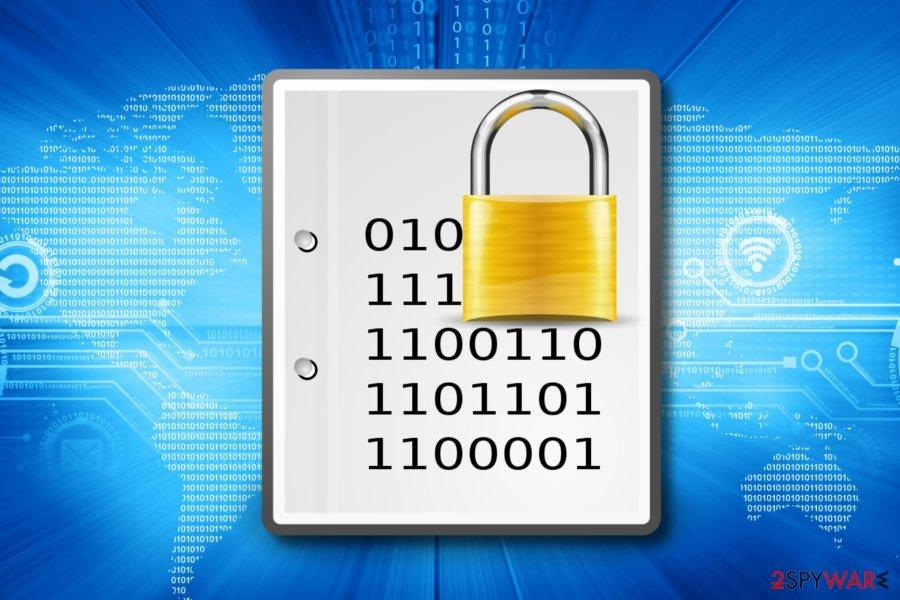 Sepsis ransomware encrypts files