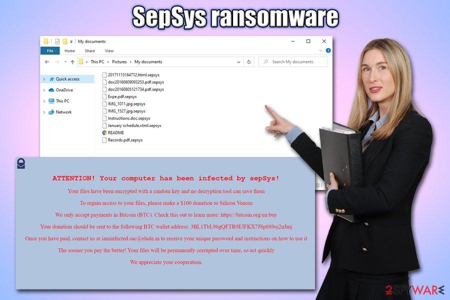 SepSys ransomware virus