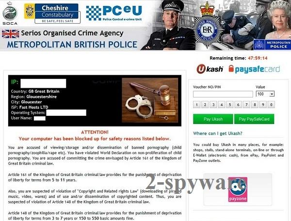 Serious Organised Crime Agency virus snapshot