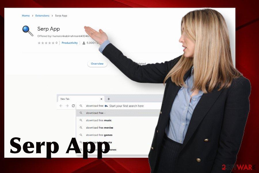 Serp App malware
