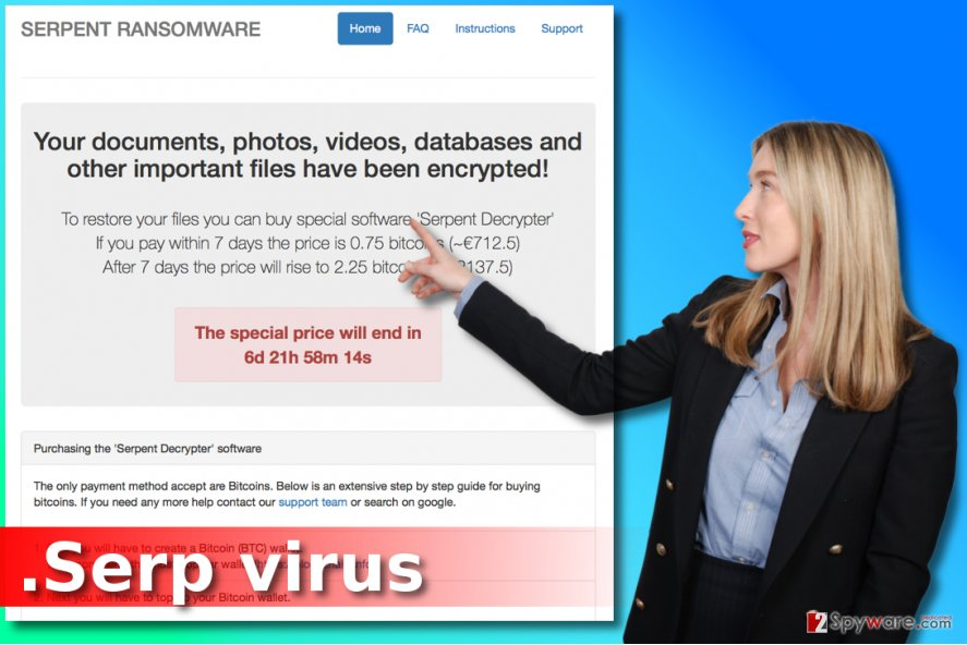 .Serp file extension virus