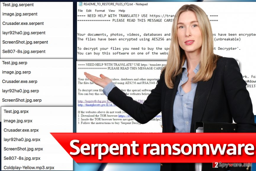 Serpent ransomware