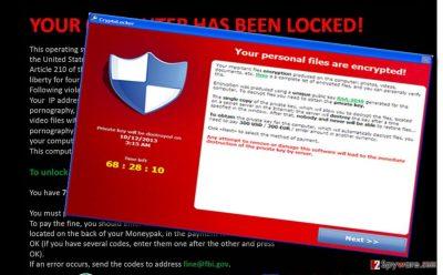Serpico ransomware note