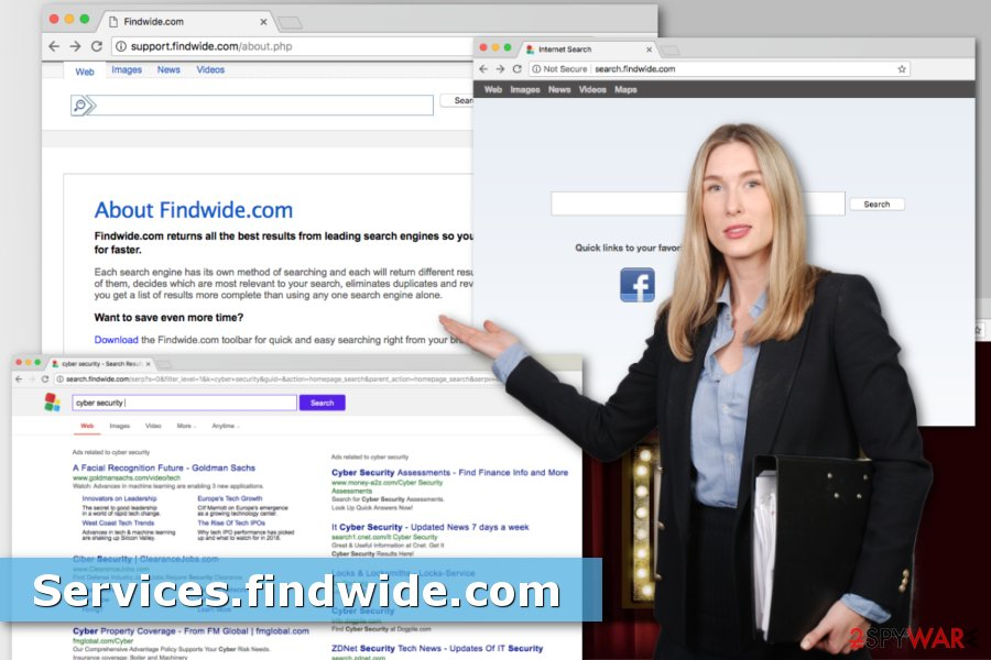 Picture of Services.findwide.com virus