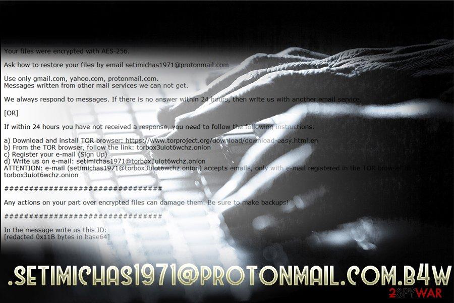 .setimichas1971@protonmail.com.b4wqsecond variant