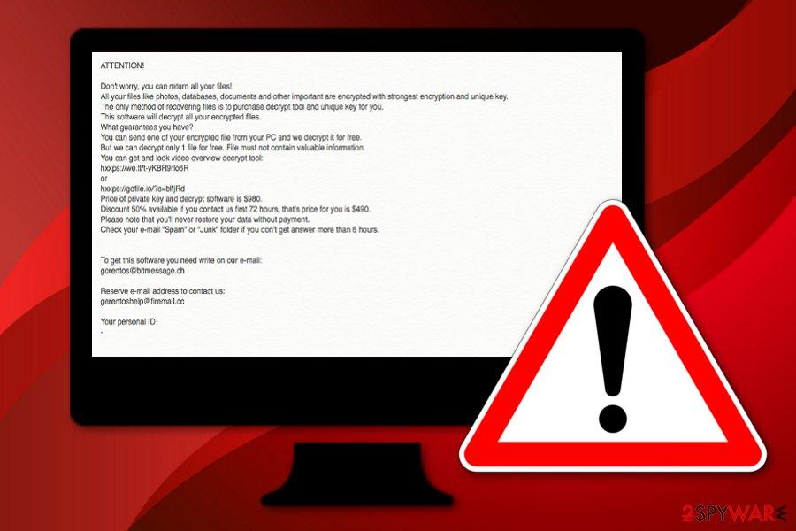 Seto ransomware virus