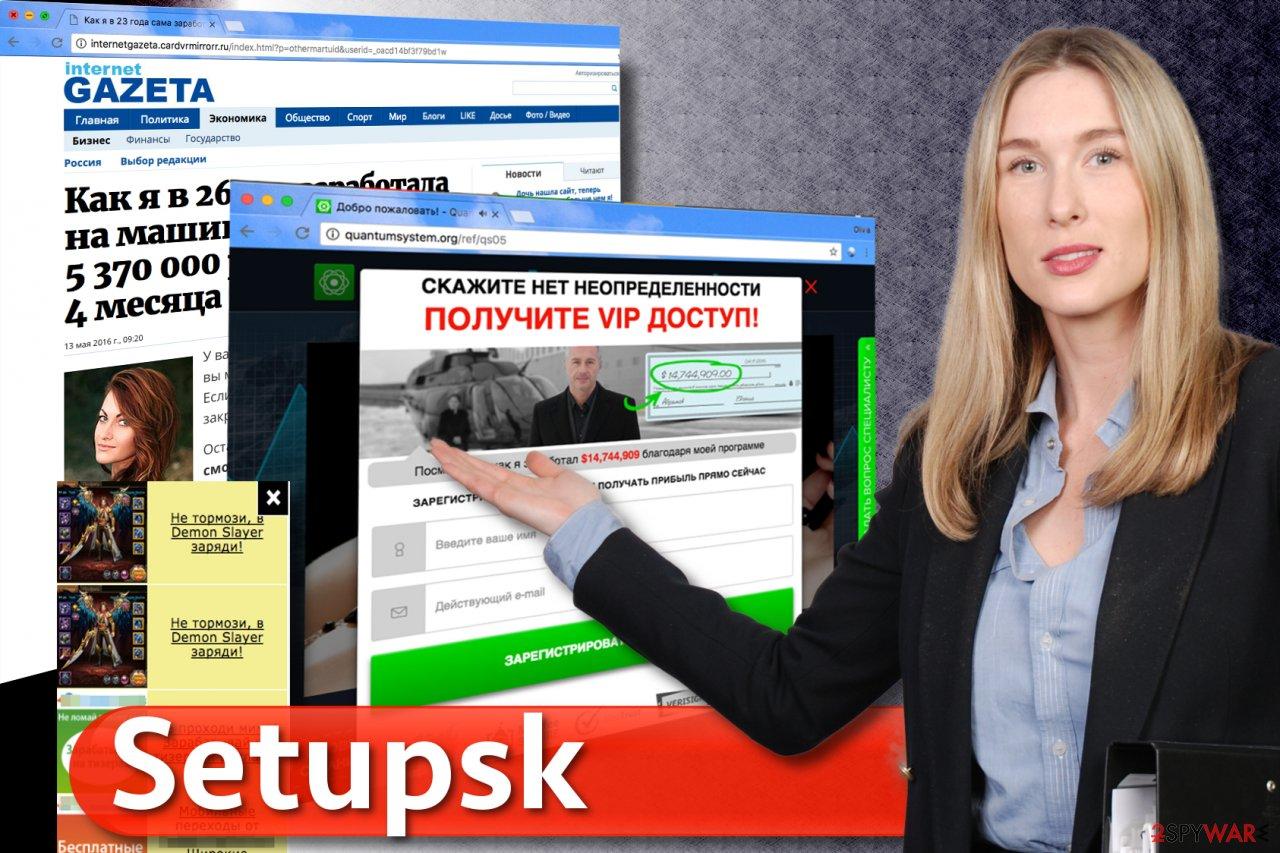 Setupsk ads