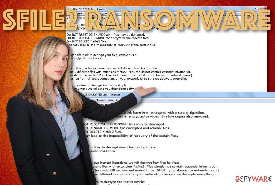 Sfile2 ransomware