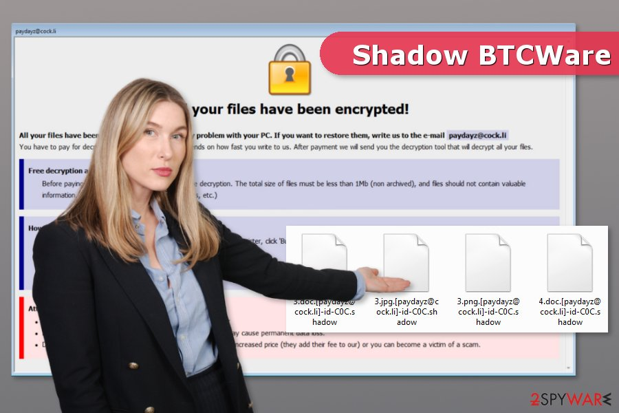 Image of Shadow ransomware